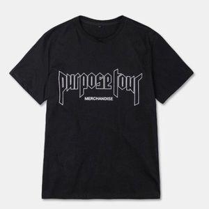 Purpose tour merchandise T shirt